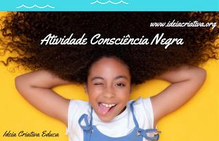 Atividade Consciência Negra BNCC para educação infantil