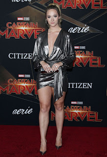 Alisha Marie at Captain Marvel Movie Premiere in Hollywood