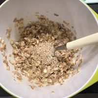 Confection galettes salées aux flocons 5 céréales et graines