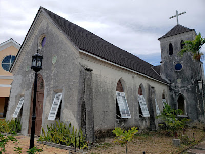 Aged historic church