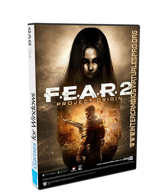 F.E.A.R. 2 Project Origin Reborn poster box cover