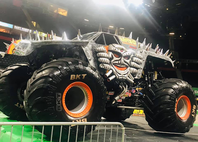 Monster Jam UK Arena Tour - Max D Monster Truck