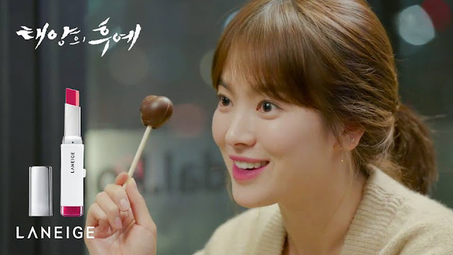 laneige song hye kyo descendants of the sun