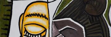Lukisan aliran Kubisme: gambar deformatif berpola geometris