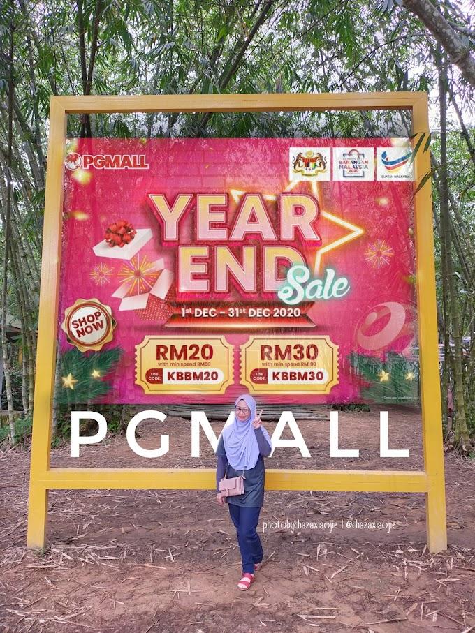 PG Mall Kempen Beli Barangan Malaysia dan Year End Sales