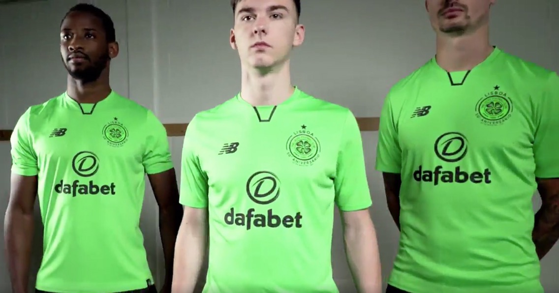 """... General Manager of New Balance Football said """"The Euro kit has  traditionally Celtic 2017-18 ... e6028bcdd"""