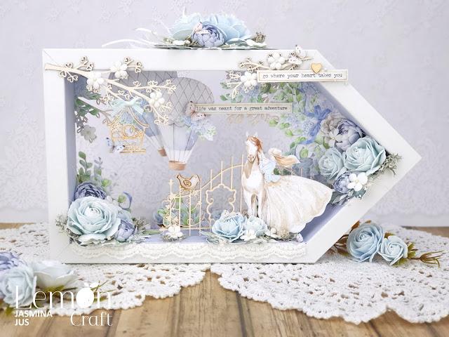 Romantyczny shadow box - stwórz prezent, który zaskoczy każdego!