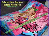Selimut New Season - Barbie Mariphosa