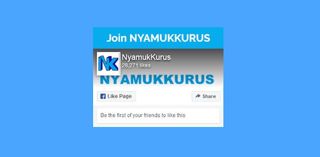 Cara Memasang Tombol Join Dan Like Facebook Di Blog