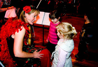 Catherine Arlidge at a CBSO Family Concert