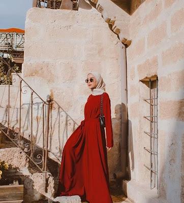 pose foto hijabers selebgram terkenal