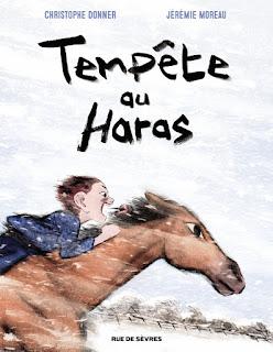 Tempête au Haras, Jeremie Moreau et Christophe Donner aux éditions Rue de Sèvres