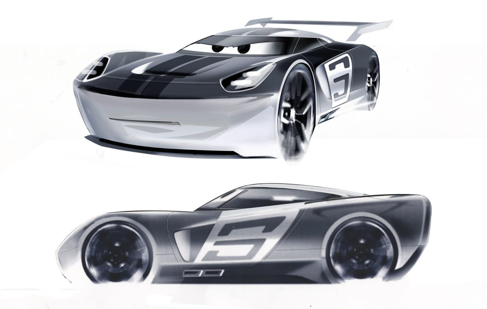 Just A Car Guy: Cars 3 behind the scenes stuff, and info on stock