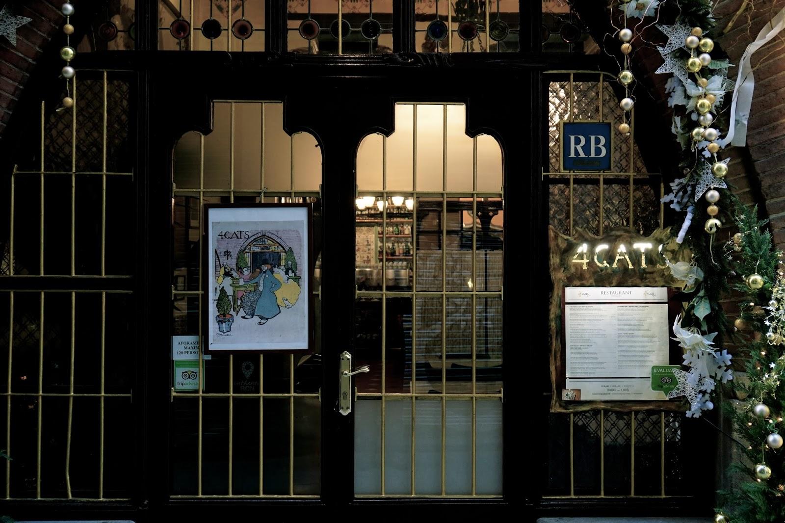 クアトロ・ガッツ(Els Quatre Gats)=カサ・マルティ(Casa Martí)
