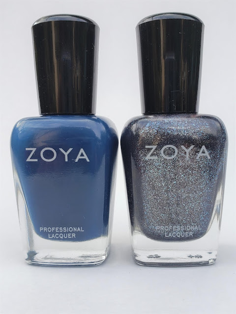 zoya blue and gray