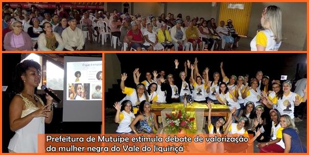Prefeitura de Mutuípe estimula debate de valorização da mulher negra do Vale do Jiquiriçá