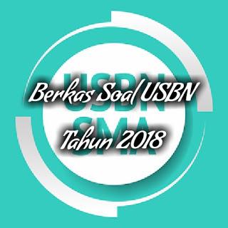 Soal USBN Ekonomi SMA/MA 2017/2018 dan Kunci Jawabannya