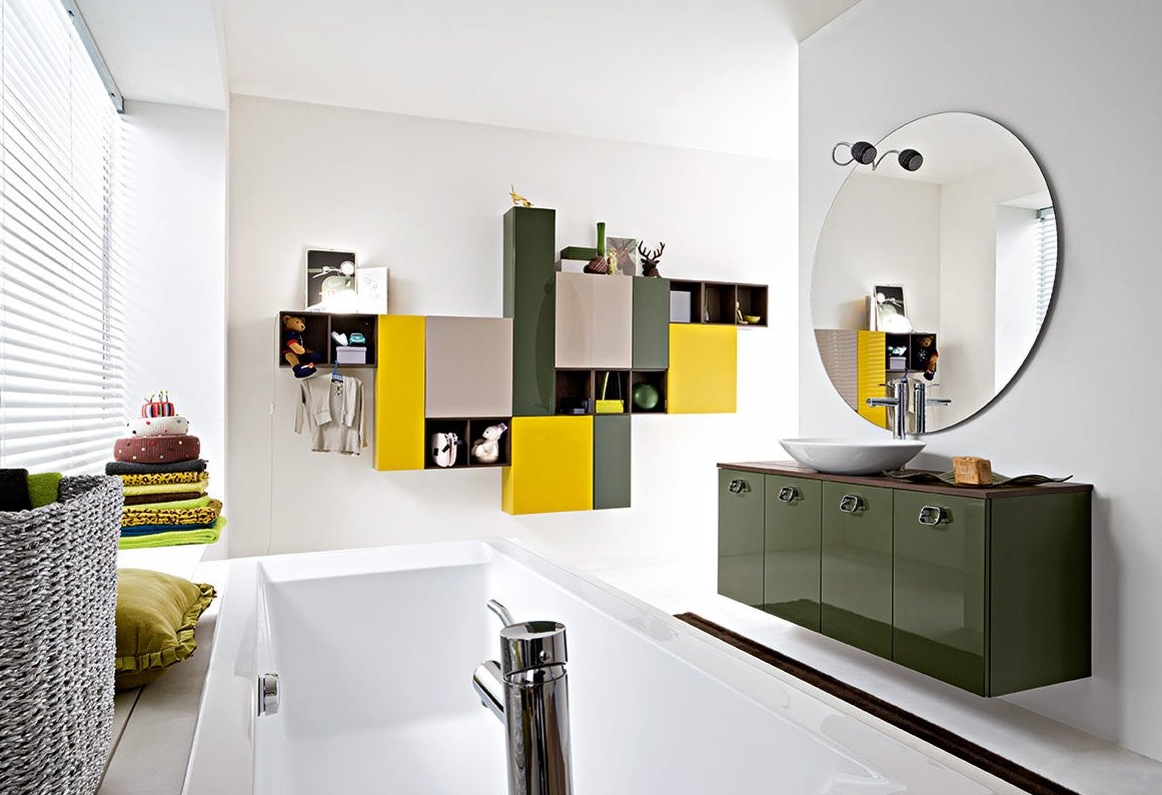 50 Modern Bathrooms: Home Interior Design & Decor: 50 Modern Bathrooms--Set 3