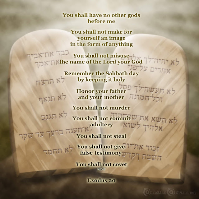 Word of God: The Ten Commandments