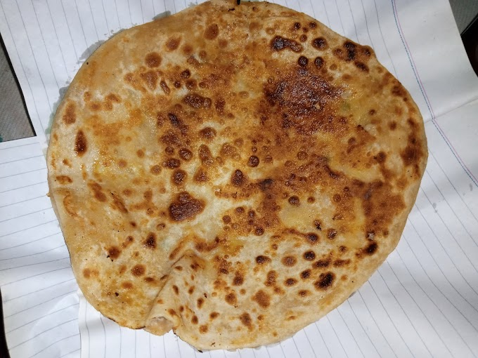 Aalu Cheese Paratha