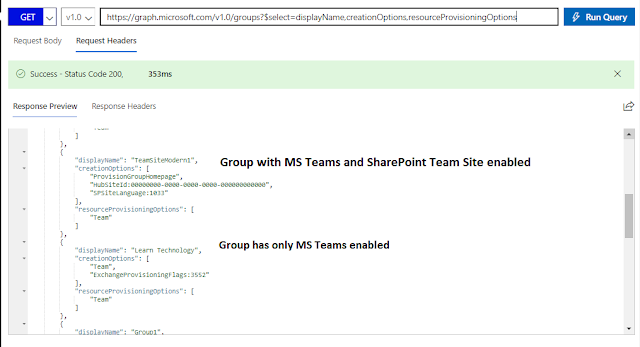 MS Graph API - representing the associations