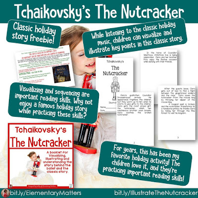 https://www.teacherspayteachers.com/Product/The-Nutcracker-Story-for-Visualization-Summarizing-and-Illustration-170834?utm_source=blog%20post&utm_campaign=Nutcracker
