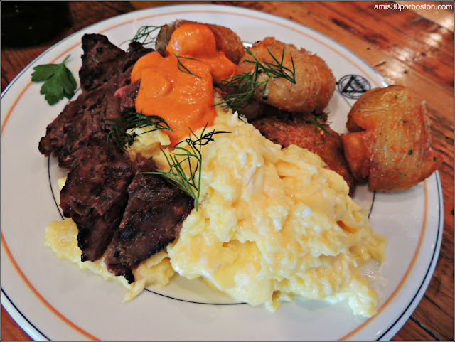 Brunch de BISq: Steak and Eggs