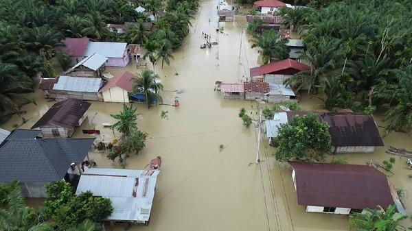 Banjir Landa Aceh Selatan, 2 Jembatan Rusak-Rumah Ambruk