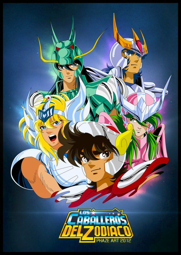 Seint Seiya (Saga completa) BRRip 1080p  Audio Japones – Latino – Castellano