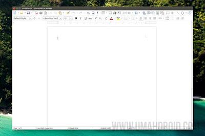 Tampilan LibreOffice Paling Baru