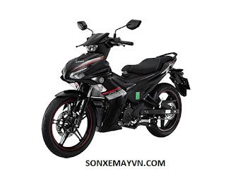 Bán Sơn xe máy YAMAHA EXCITER màu đen