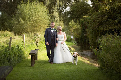Wedding at Uplyme Village Hall.