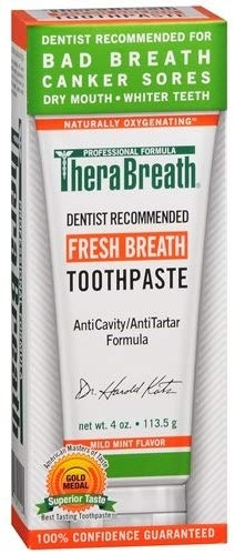 Therabreath Oxygenating toothpaste