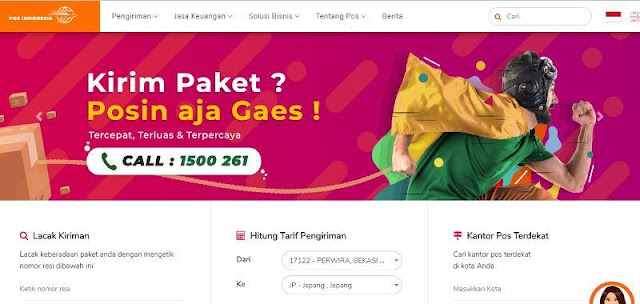 Kirim Barang ke Luar Negeri via Pos Indonesia