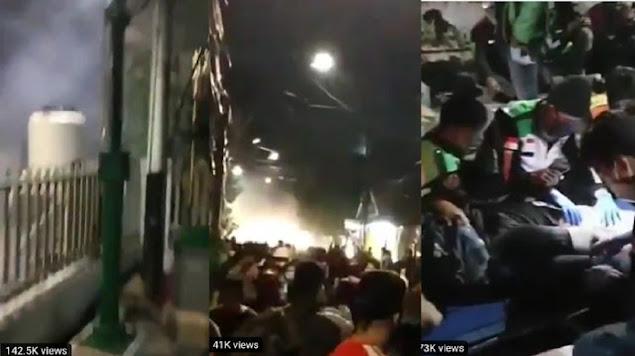 Viral! Polisi Diduga Tembaki Gas Air Mata ke Pendemo di Masjid Kwitang
