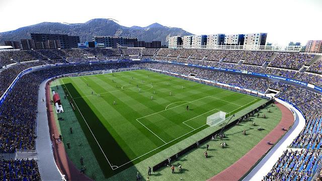 PES 2020 Estadio Heliodoro Rodríguez López by xcdf86