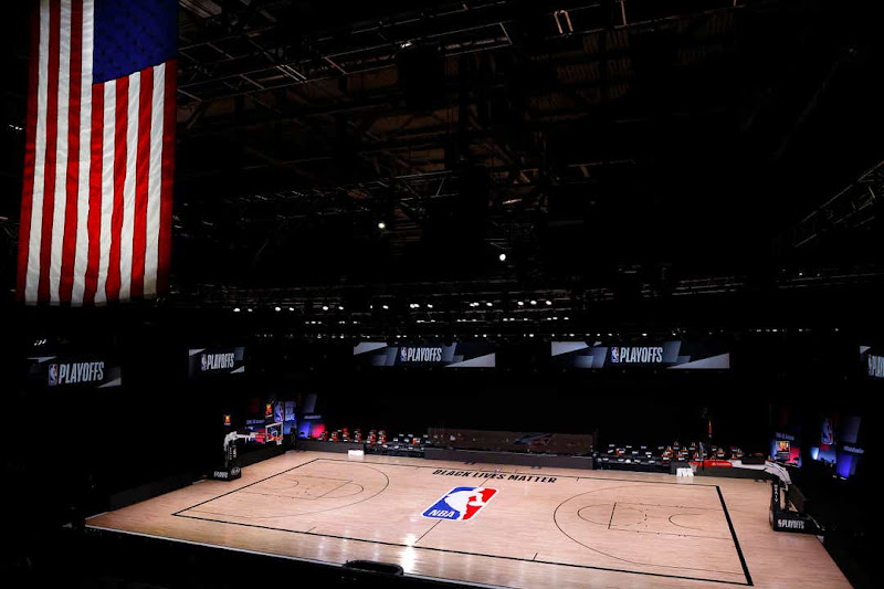 The spectacle of the empty court on Wednesday night, a would-be stage for the Milwaukee Bucks and Orlando Magic, was a rejection of normalcy.