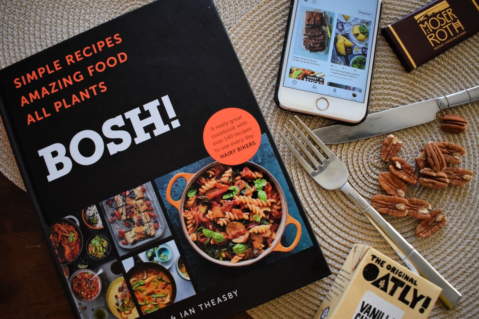 Bosh Vegan recipe book