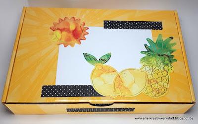 Sonnenschein-Box mit sonnigen Grußkarten Stampin' Up! www.eris-kreativwerkstatt.blogspot.de
