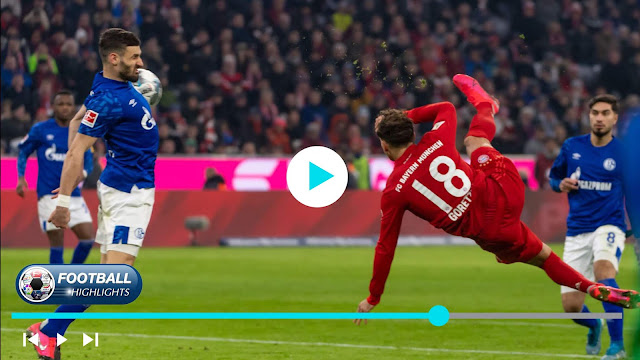 Bayern München vs Schalke 04 – Highlights