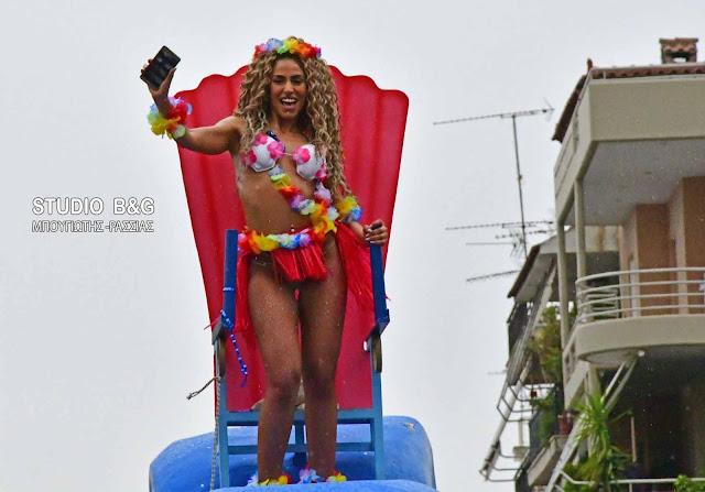 Χιλιάδες κόσμου με τρελό κέφι στο καρναβάλι του Άργους