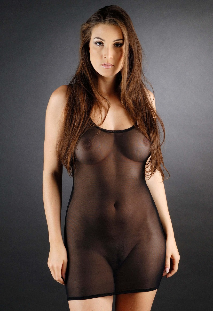 Babes In See Through Clothes