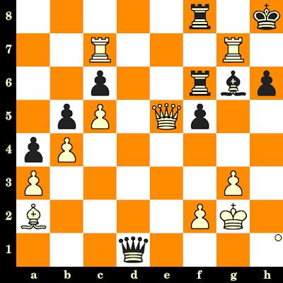 Les Blancs jouent et matent en 3 coups - Matthias Bluebaum vs Aleksandr Shimanov, Internet, 2020