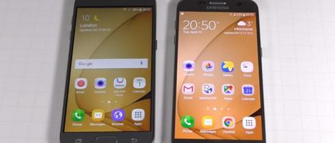 Có sự khác biệt về màu sắc của những chiếc Galaxy S7 thật và nhái