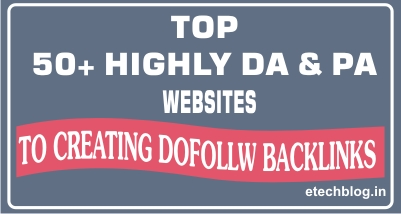 Top 50+ Websites Which Allow To Creating Backlinks Through Commenting.