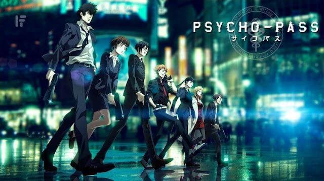جميع حلقات انمى سايكو باس الموسم الأول Psycho Pass بلوراي Bluray