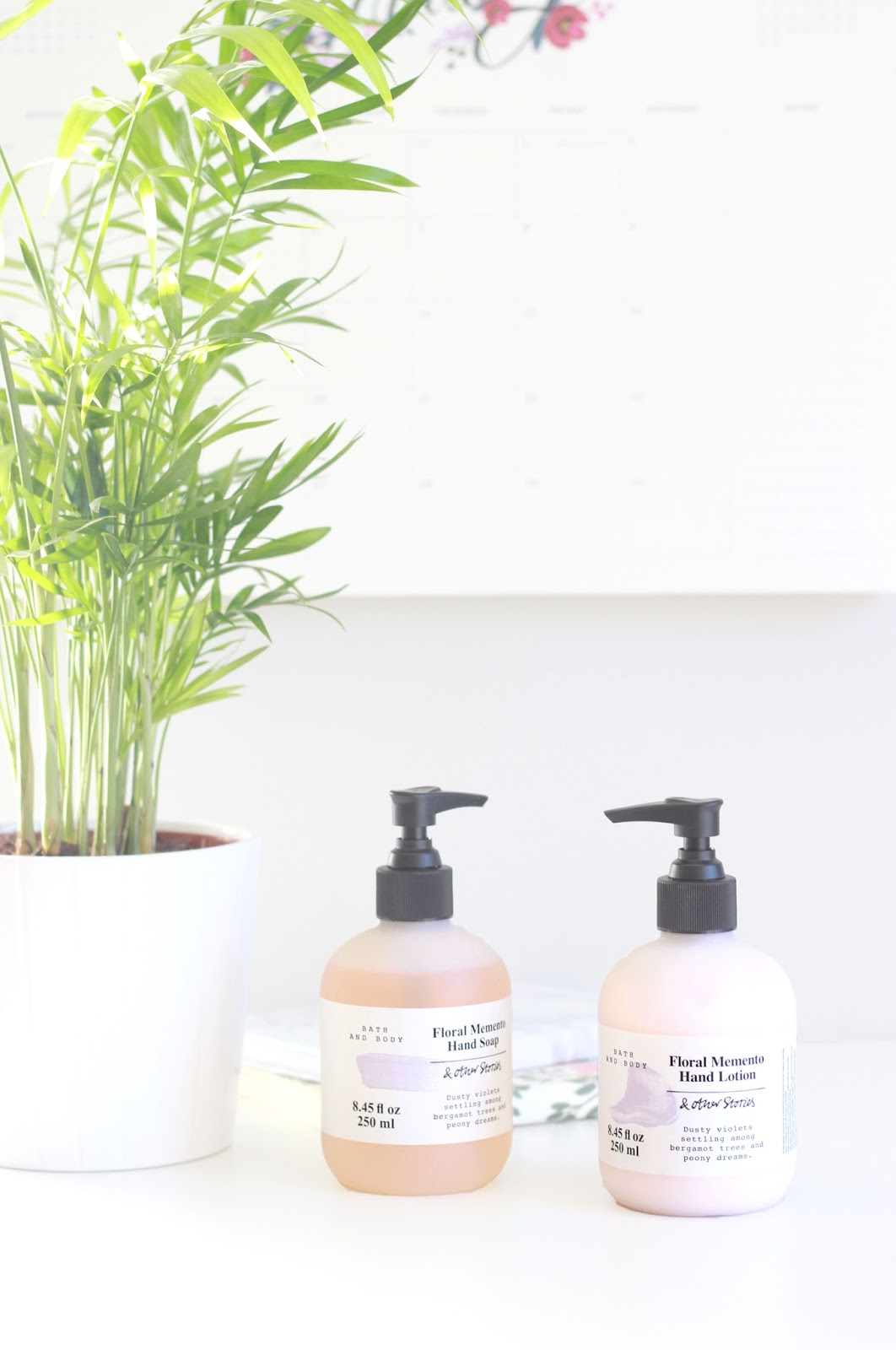 And Other Stories Floral Memento Hand Lotion and Hand Wash