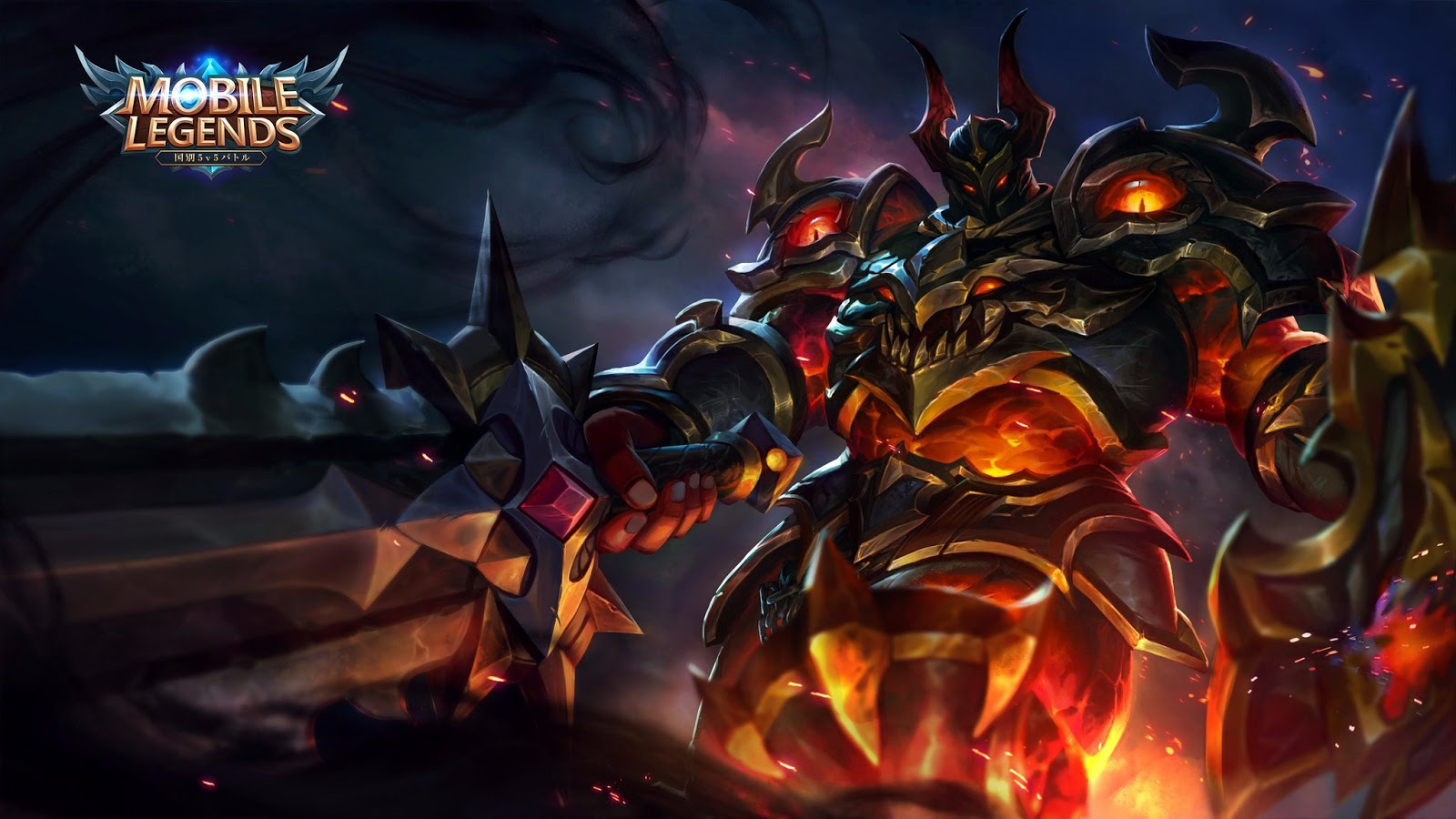Wallpaper Tigreal Fallen Guard Skin Mobile Legends HD for PC