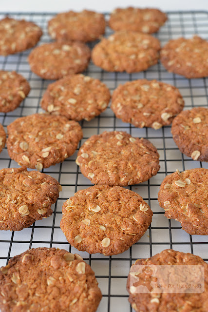 How to make anzac biscuits with self raising flour