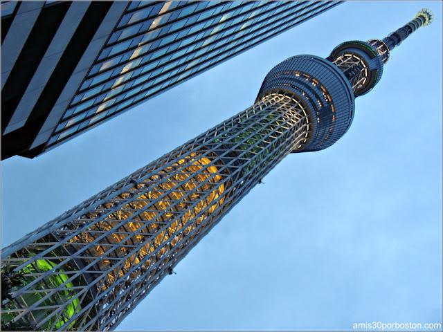 Iluminación de la Tokyo Skytree